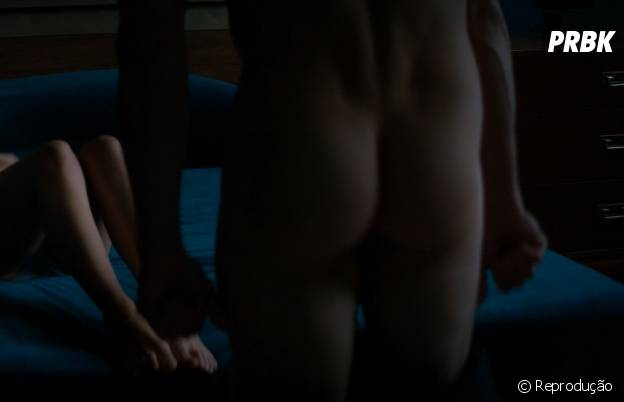 """Em """"50 Tons de Cinza"""", Jamie Dornan não teve medo de mostrar o bumbum para o seu Christian Grey"""