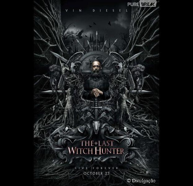"""Vin Diesel, de """"Velozes & Furiosos"""", interpreta um caçador de bruxas em seu novo filme"""