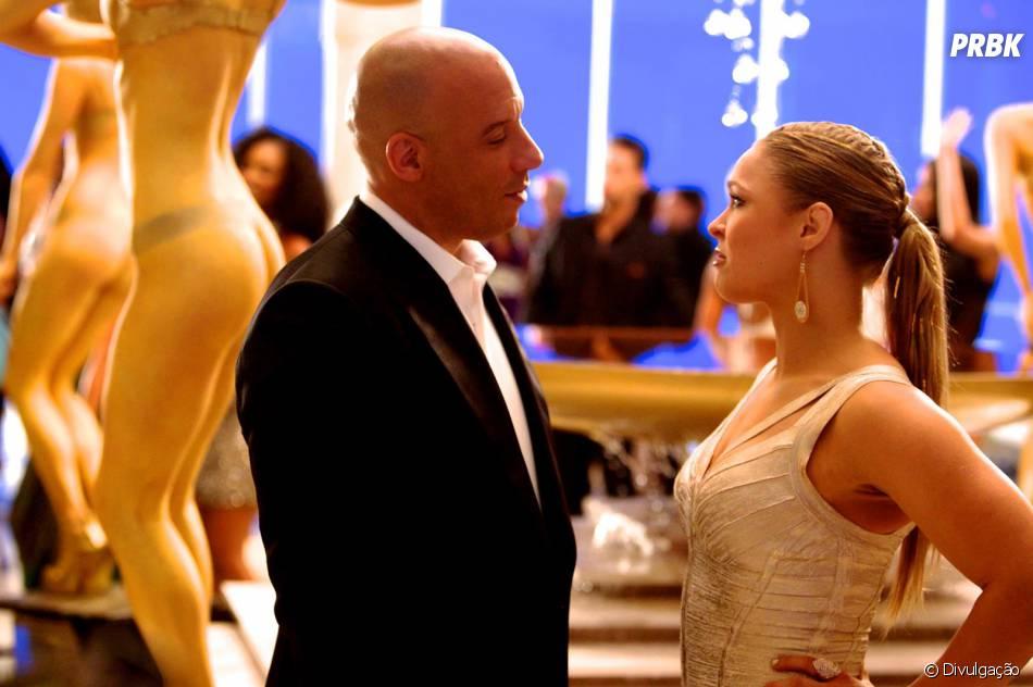 """""""Velozes & Furiosos 7"""", com Vin Diesel, chegou aos cinemas brasileiros no último dia 2 de abril"""