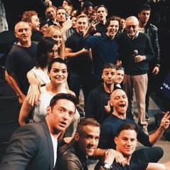 Selfie da Marvel: Jennifer Lawrence, Hugh Jackman e mais super-heróis dividem foto na Comic-Con 2015