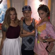 """MC Gui, Isabella Santoni e elenco de """"Malhação"""" badalam juntos em restaurante no Rio"""