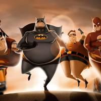 d95493d3c9012 Batman e Superman acima do peso  Confira esses e outros heróis que ganharam  uns quilinhos