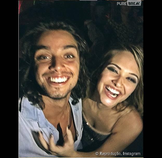 Juliana Paiva diz que deu apelido carinhoso para Rodrigo Simas!