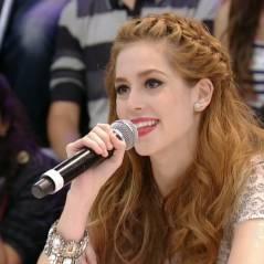 """Sophia Abrahão participa do """"Domingão do Faustão"""" e fala da carreira como atriz e cantora"""