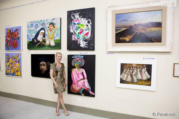 Branca Paixão é artista plástica e aconselha outros jovens a seguir na profissão