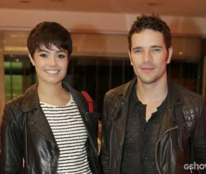 Daniel de Oliveira e Sophie Charlotte, noivos, já teriam data para trocar alianças