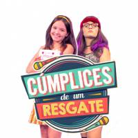 """Novela """"Cúmplices de Um Resgate"""": elenco se diverte no palco do programa """"Domingo Legal"""""""