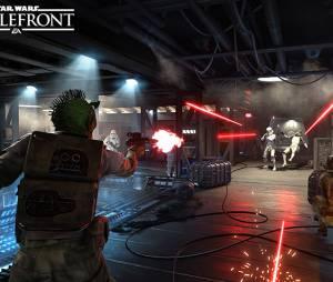 "Screenshot do modo deathmatch ""Blast"" anunciado para ""Star Wars: Battlefront"""