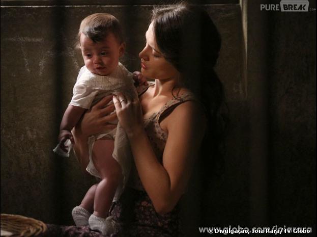 """Em """"Joia Rara"""" Amélia (Bianca Bin) vai sofrer ao ter que entregar sua filha à Franz (Bruno Gagliasso)"""