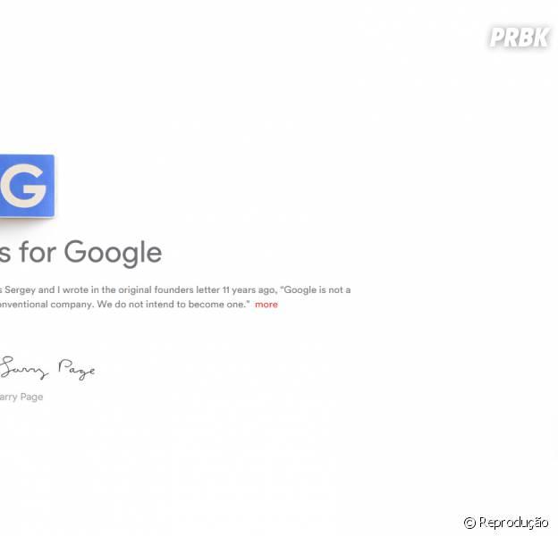 """Criadores do Google criam a """"Alphabet"""" para ajudar a controlar Android, Youtube e outros serviços"""