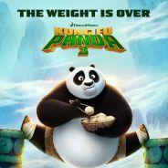 """De """"Kung Fu Panda 3"""": novo cartaz divulgado mostra o urso Po em apuros. Veja!"""