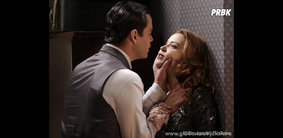 "Manfred (Carmo Dalla Vecchia) é o principal suspeito de ter causado o acidente de Silvia (Nathalia Dill) em ""Joia Rara"""