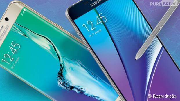 Lançamentos da Samsung para 2015: Galaxy Note 5 e Galaxy S6 Edge+
