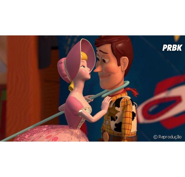 """Casal Woody e Bo Beep terá uma história dedicada ao seu romance em """"Toy Story 4"""""""