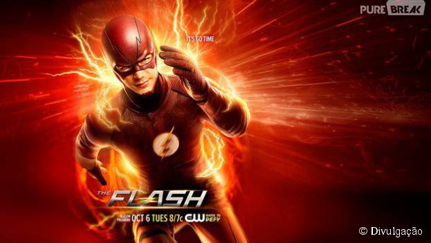 "Veja novo pôster da segunda temporada de ""The Flash""!"