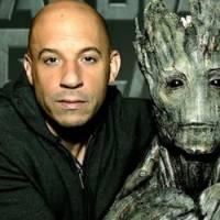 """Vin Diesel, de """"Velozes & Furiosos"""", é confirmado como o Groot na sequência """"Guardiões da Galáxia 2"""""""