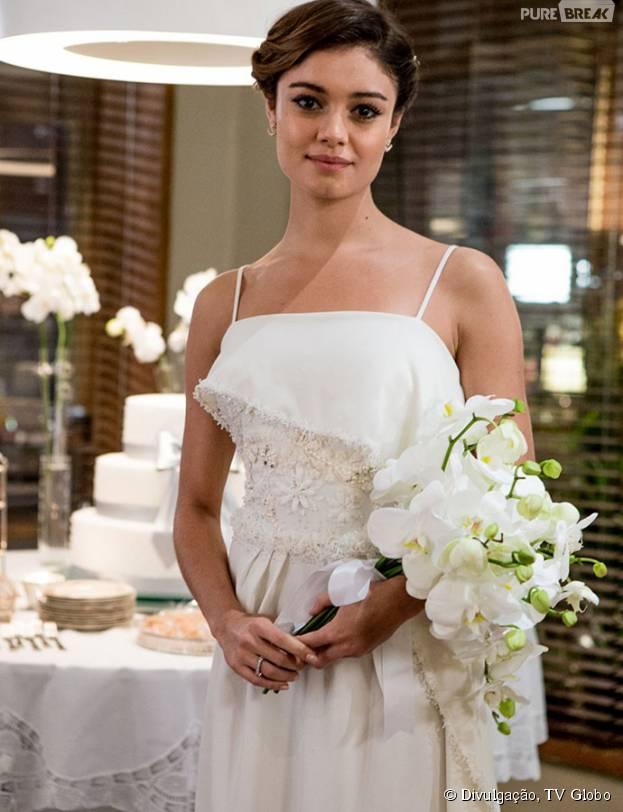 """Alice (Sophie Charlotte) aparece linda de noiva e terá um final muito feliz em """"Babilônia"""", da Globo!"""