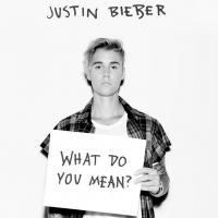 """Justin Bieber beija sósia de Kendall Jenner em clipe ousado do hit """"What Do You Mean""""!"""