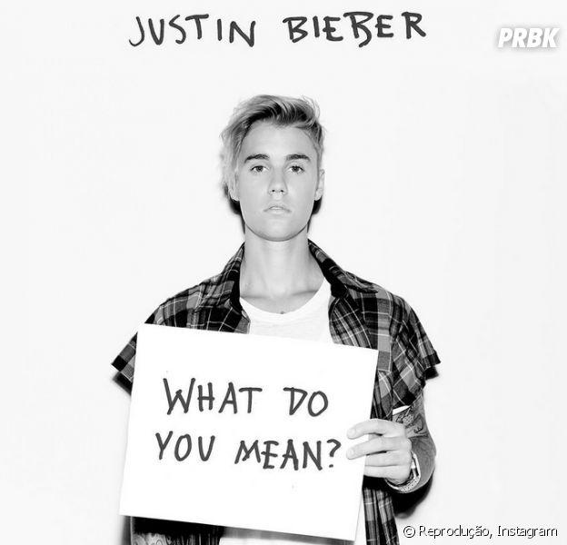 """Justin Bieber na prévia do clipe """"What Do You Mean"""""""