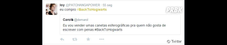 """Escrever com pena não é nada 2015, né gente? Vamos atualizar, """"Harry Potter"""", pfv"""