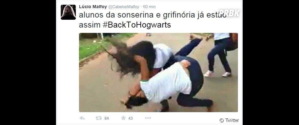 """A eterna rixa de """"Harry Potter"""" também virou meme no Twitter"""