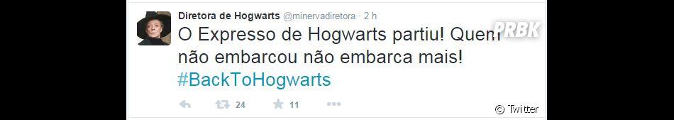 """E aí, embarcou rumo ao mundo de """"Harry Potter""""? A plataforma 9 3/4 não espera ninguém!"""