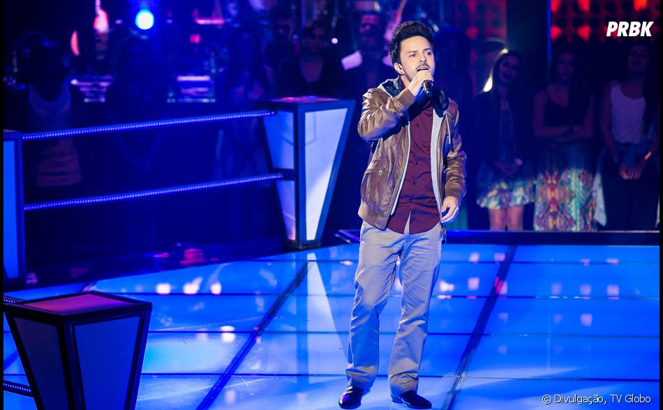 "Rubens Daniel, do time do Daniel, no ""The Voice Brasil"""