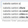 """Quem nunca procurou alguma celebridade """"antes e depois da fama"""", assim como fizeram com Isabella Santoni, que atire a primeira pedra!"""