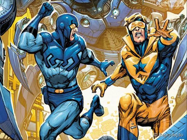 Gladiador Dourado e Besouro Azul, da DC Comics, vão ganhar filme