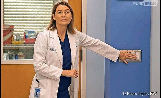 """Meredith (Ellen Pompeo) na 12 temporada de """"Grey's Anatomy"""""""
