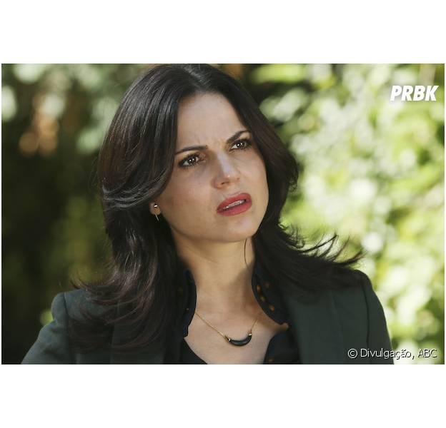 """Em """"Once Upon a Time"""", na 5ª temporada: Regina (Lana Parrila) é a nova Salvadora de Storybrooke!"""