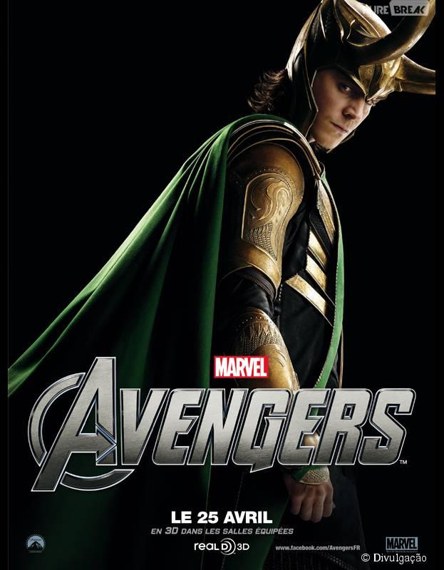 """Tom Hiddleston comenta a ausência do vilão Loki em """"Os Vingadores 2"""""""