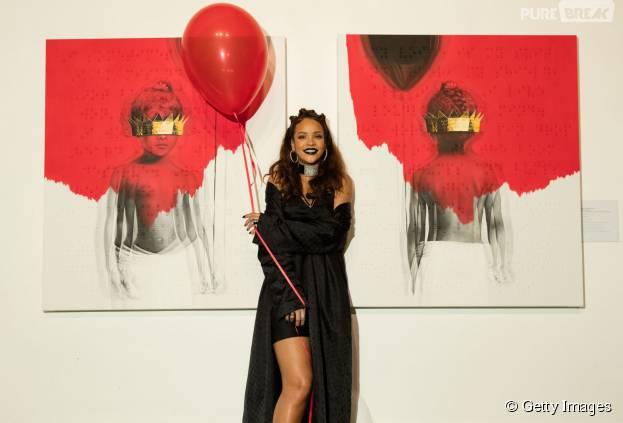 """Rihanna abre o jogo e revela detalhes do álbum """"Anti"""""""