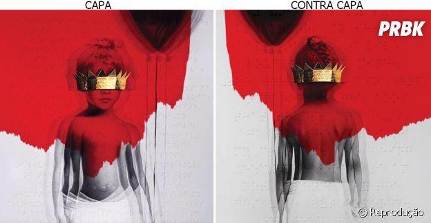 "Rihanna divulga capa e contra capa do álbum ""Anti"""