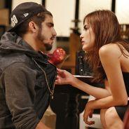 """Novela """"I Love Paraisópolis"""": Grego se declara para Margot: """"Agora sou só teu e da Maria"""""""