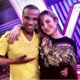 """Claudia Leitte escolheu Alexandre Pires como seu novo assistente no """"The Voice Brasil"""", da Globo"""