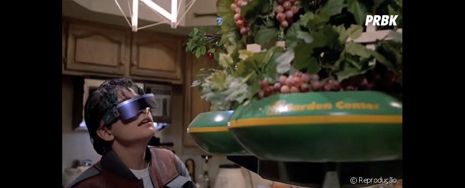 """Tá achando que os Drones são novidades no mercado? """"De Volta para o Futuro"""" já previa essa"""