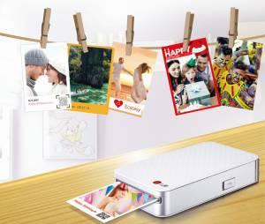 LG Pocket Photo 2 imprime até 30 fotos com sua bateria interna