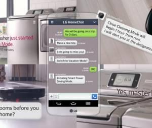"""A CES 2014 promete trazer muitas novidades para os aparelhos da casa e o""""HomeChat"""" é uma delas"""