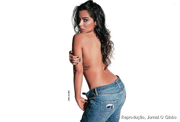 Anitta é a mulher mais sexy do mundo pela revista VIP