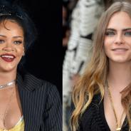 Rihanna e Cara Delevingne juntas no cinema! Cantora se junta à modelo em elenco de novo filme