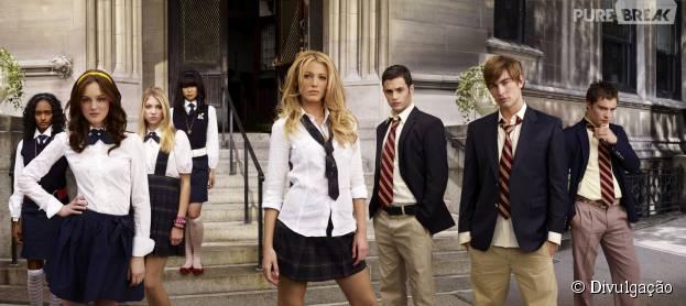 """""""Gossip Girl"""" bombou no início e vale muito a pena fazer uma maratona das primeiras temporadas. Veja outras que merecem ser revistas!"""