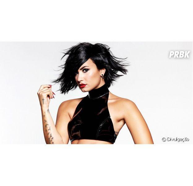 """Demi Lovato lança seu novo CD e fãs acreditam em Grammy para """"Confident"""""""