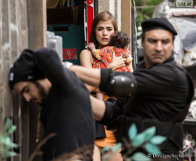 """Em """"I Love Paraisópolis"""": Grego (Caio Castro) é preso e Margot (Maria Casadevall) fica desesperada!"""