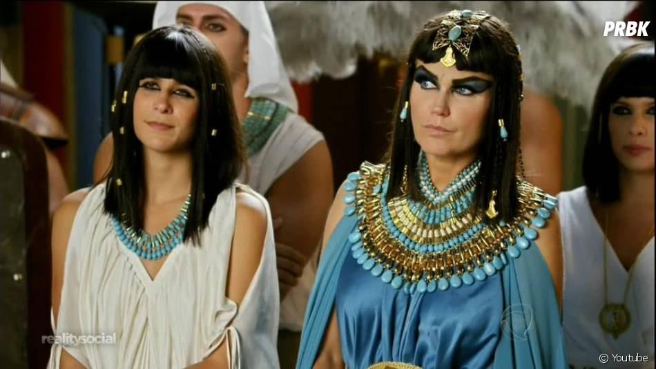 """Em seu programa de estreia, Xuxa fez um vídeo muito zoeiro com uma das cenas da novela """"Os Dez Mandamentos"""", da Record"""