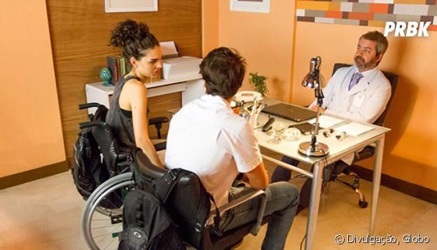 """Em """"Malhação"""", Ciça (Julia Konrad) descobre que está grávida e tem apoio de Rodrigo (Nicolas Prattes)"""