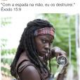 """Até """"The Walking Dead"""" virou meme no perfil @bibliaemimagens"""