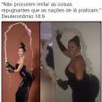 Olha a Kim Kardashian sendo zoada pelo usuário @bibliaemimagens