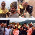 """Final """"Os Dez Mandamentos"""": Sérgio Marone, o Ramsés, usou o Instagram para mostrar clima das últimas gravações"""