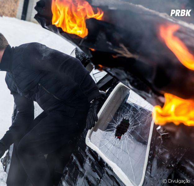 """""""007 Contra Spectre"""" bateu o recorde de Maior Explosão Cinematográfica no Guinness Book"""